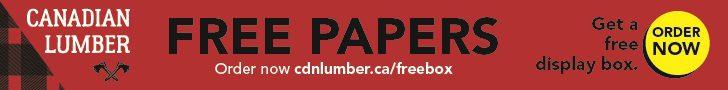 Canadian Lumber Jan 1-Jul 1 2021 rotating leaderboard